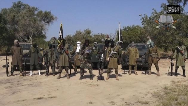 Kämpfer der Dschihadistenmiliz Boko Haram (Bild: AP)