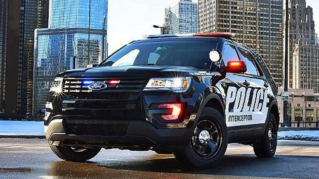 Der Ford Police Interceptor für zum Beispiel Hochgeschwindigkeitsverfolgungsjagden (Bild: press-inform/Lenco/Polizeibehörden)