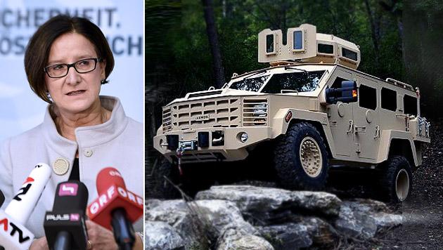 Die idealen Autos für Mikl-Leitners Einkaufsliste (Bild: press-inform/Lenco/Polizeibehörden, APA/HELMUT FOHRINGER)