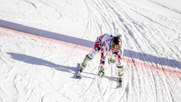 Fenninger trotz Schrecksekunde zum zweiten Gold! (Bild: APA/EXPA/ Johann Groder)