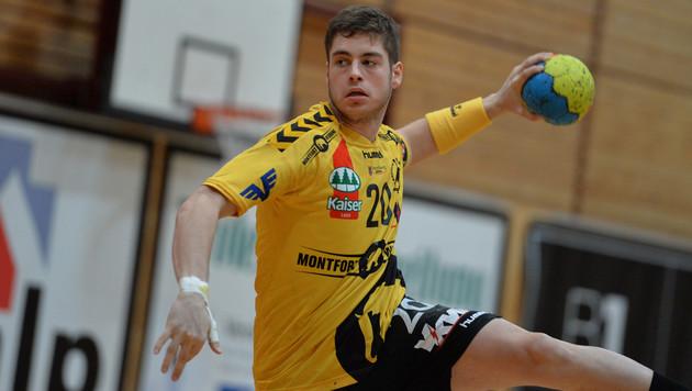 Bregenz besiegte Hard im hitzigen Handball-Derby (Bild: GEPA)