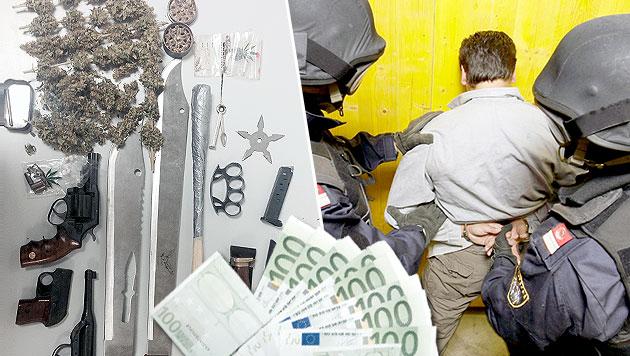 Dealer nahm Kokain-Bestellungen per SMS entgegen (Bild: APA/BARBARA GINDL, Polizei)