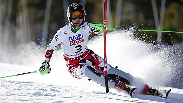Kathrin Zettel hört auf! Ski-Ass beendet Karriere (Bild: APA/EPA/GEORGE FREY)