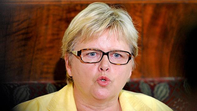 Die Bundesleiterin der ÖVP Frauen, Dorothea Schittenhelm (Bild: APA/HERBERT NEUBAUER)