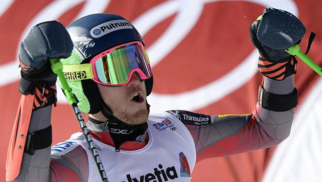 Ted Ligety holt Gold, Silber für Marcel Hirscher! (Bild: APA/Hans Klaus Techt)