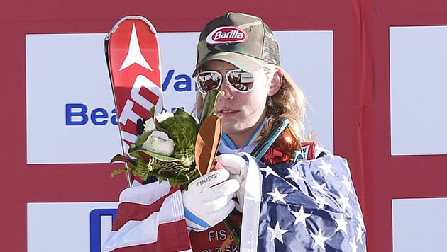 Shiffrin: Jahrhundert-Talent am Slalom-Thron (Bild: APA/EPA/JOHN G. MABANGLO)