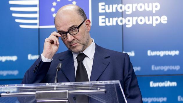 EU-Wirtschafts- und Währungskommissar Pierre Moscovici (Bild: APA/EPA/THIERRY MONASSE)