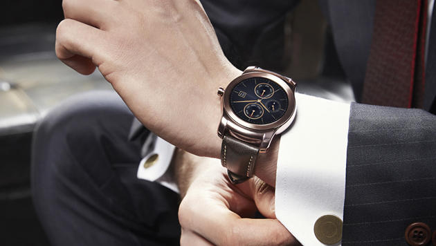 Neue Features für Smartwatches mit Android Wear (Bild: LG Electronics)