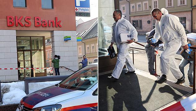 Räuber stellt sich nach Überfall auf BKS-Filiale (Bild: Evelyn Hronek)