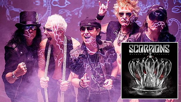 Scorpions feiern 50-Jahre-Jubiläum mit neuem Album (Bild: Sony Music)