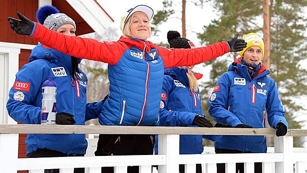 Chefcoach Felder setzt auf starkes Damen-Quartett (Bild: APA/BARBARA GINDL)