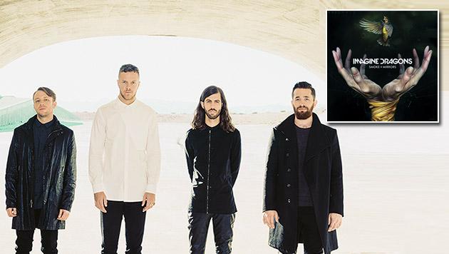 Imagine Dragons halten dem großen Druck stand (Bild: Universal Music)