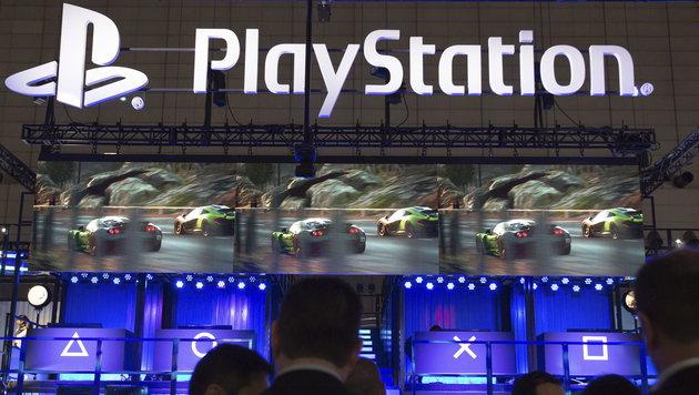 Sony setzt voll auf PlayStation und Bildsensoren (Bild: APA/EPA/MICHAEL NELSON)