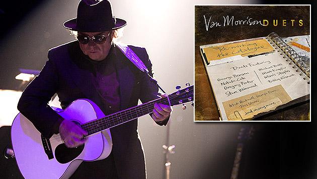 Van Morrison kooperiert mit Größen der Musikszene (Bild: Sony Music)