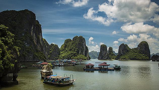 Vietnam: Zu Besuch in der Mutter aller Buchten (Bild: thinkstockphotos.de)