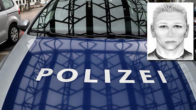 Das Phantombild des gesuchten Verdächtigen (Bild: APA/BARBARA GINDL, LPD Steiermark)