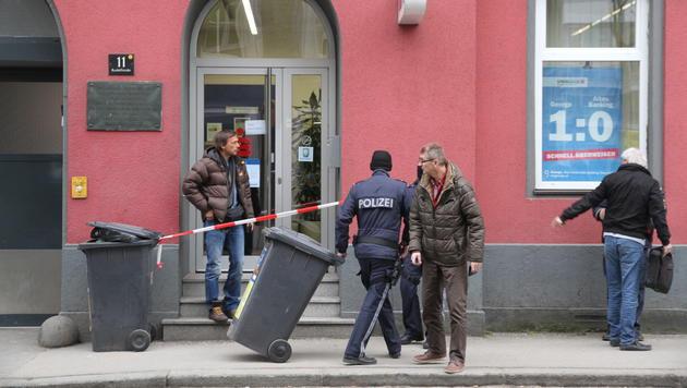Schauplatz des Überfalls war eine Sparkassen-Filiale in Linz-Urfahr (Bild: Christoph Gantner)