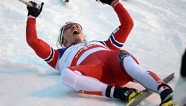 Marit Björgen (Bild: APA/EPA/ANDERS WIKLUND)
