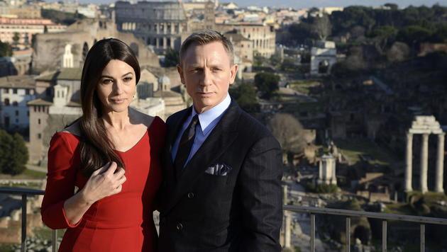 Monica Bellucci und Daniel Craig (Bild: EPA)