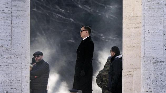 Die ersten Bilder von den Bond-Dreharbeiten in Rom (Bild: Angelo Carconi)