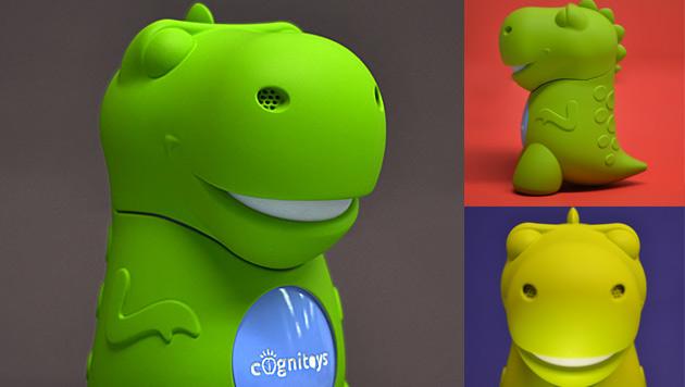 Firma will Spielzeug-Dino mit Superhirn entwickeln (Bild: elementalpath.com)