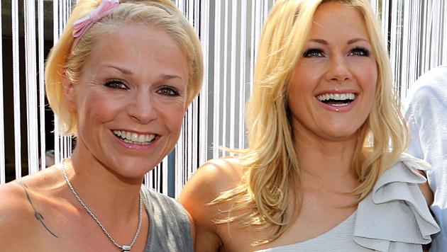 Michelle und Helene Fischer (Bild: Uta Rojsek-Wiedergut)