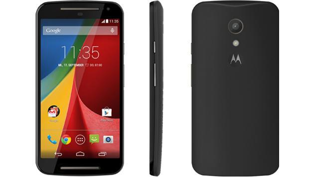 Moto G: Einsteiger-Handy für 137 Euro bei Hofer (Bild: Motorola)