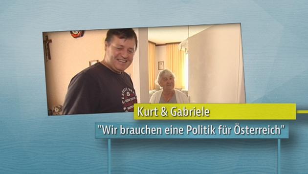 Kurt und Gabriele (Bild: ATV)