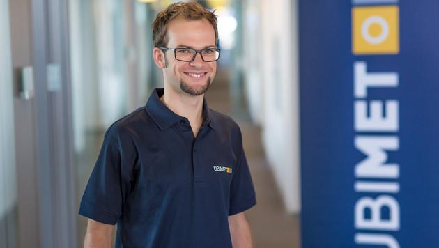 UBIMET-Wetterexperte Clemens Teutsch-Zumtobel (Bild: UBIMET/Ludwig Schedl)