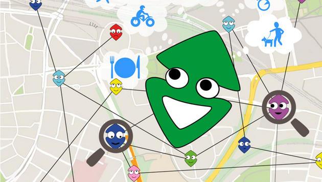"""Walkie-Talkie-Funktion für Chat-App """"AllUmeet"""" (Bild: allumeet.com)"""
