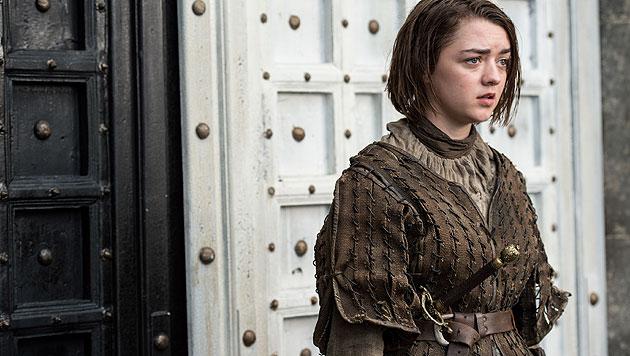 Maisie Williams als Arya Stark (Bild: © © HBO/Helen Sloan)