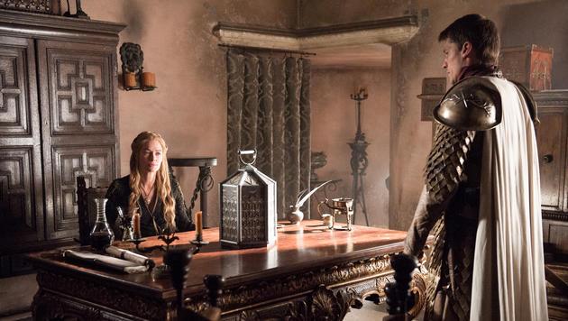 Lena Headey als Cersei Lannister und Nikolaj Coster-Waldau als Jaime Lannister (Bild: © © HBO/Helen Sloan)