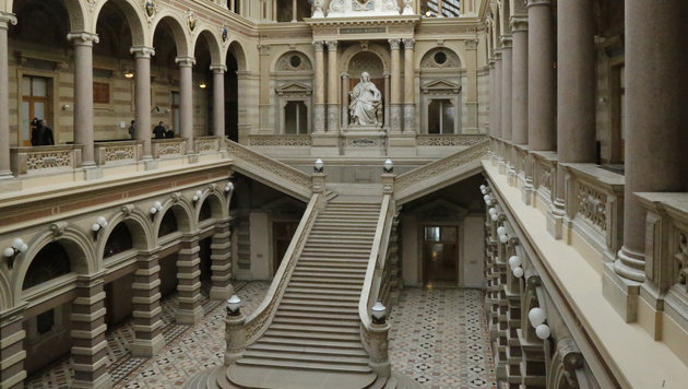 Der Justizpalast (Bild: Martin A. Jöchl)
