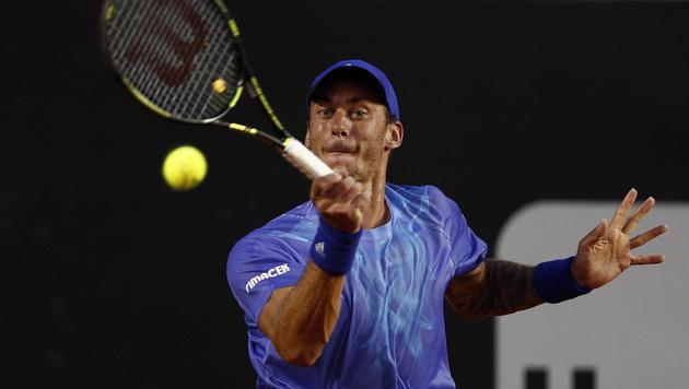 Haider-Maurer erstmals in einem 500er-Halbfinale (Bild: APA/EPA/MARCELO SAYAO)