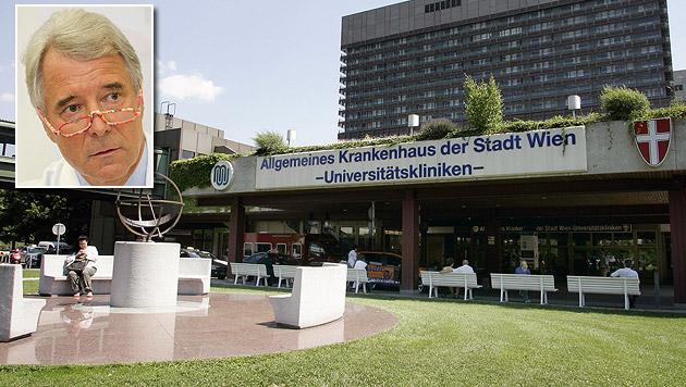 Mehr Sicherheit für Wiens Krankenhäuser gefordert (Bild: Klemens Groh, Peter Tomschi)