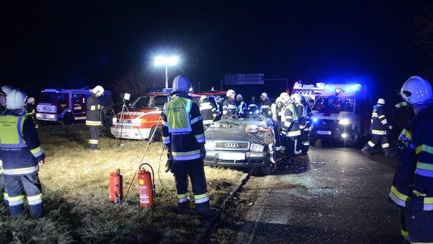 24-jähriger Alkolenker bei Unfall schwer verletzt (Bild: KK HFW Villach)