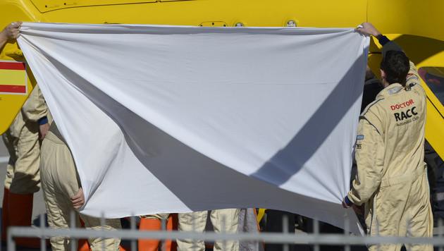 Alonso-Crash bei Tests: Entwarnung um Superstar (Bild: AP)