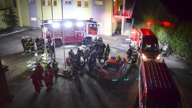 Vermisster Mann (80) nach Nacht im Freien gefunden (Bild: Feuerwehr Mooskirchen)