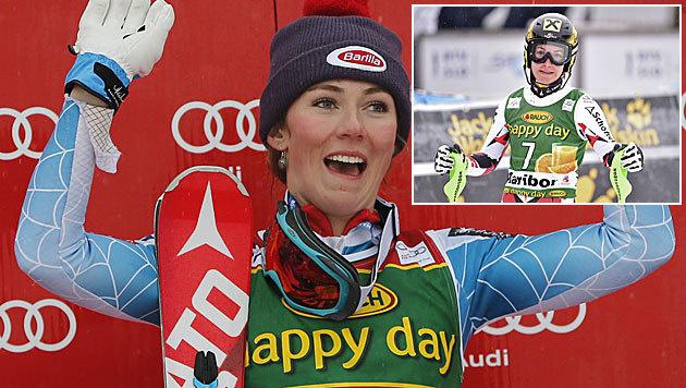 Zettel bewundert Shiffrin von Platz sieben aus (Bild: AP, GPEA)