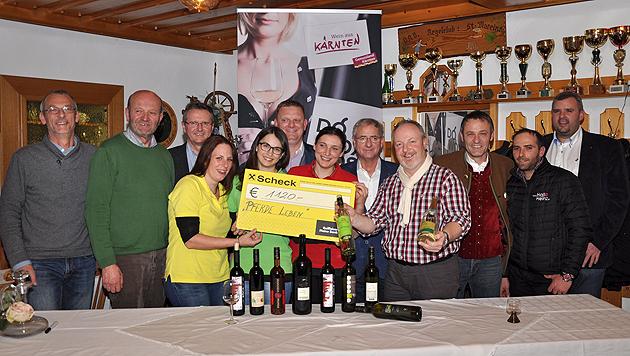 Viele Unterstützer, darunter der Wolfsberger Bürgermeister, beteiligten sich an der Veranstaltung. (Bild: zVg)