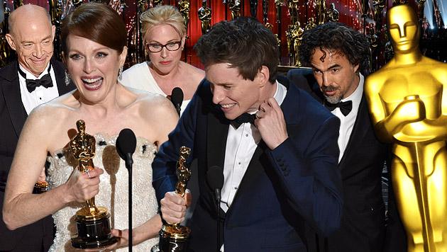 Das war die große Oscar-Nacht (Bild: Invision/AP)