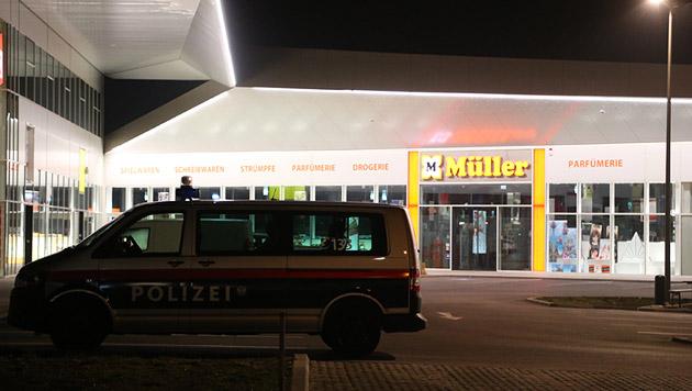 Tatort Nummer 2 in Floridsdorf: Hier kam es zu einem Schusswechsel zwischen Polizei und Einbrechern. (Bild: Zwefo)