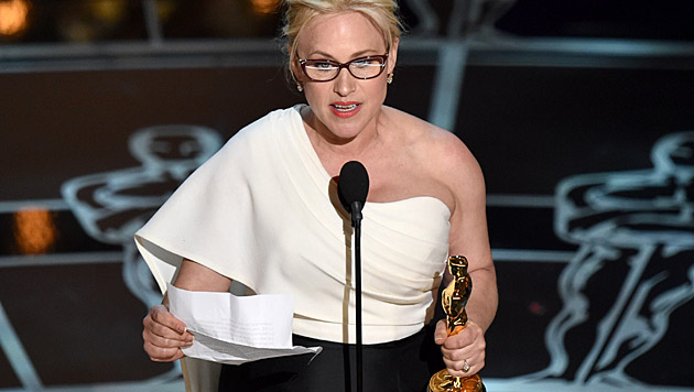 "Patricia Arquette gewinnt den Oscar als ""Beste Nebendarstellerin"". (Bild: John Shearer/Invision/AP)"