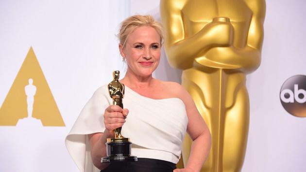 """Patricia Arquette wurde als """"Beste Nebendarstellerin"""" geehrt. (Bild: AFP)"""