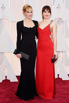 Melanie Griffith mit Tochter Dakota Johnson (Bild: AP)