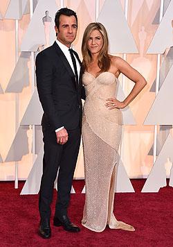 Justin Theroux und Jennifer Aniston (Bild: AP)