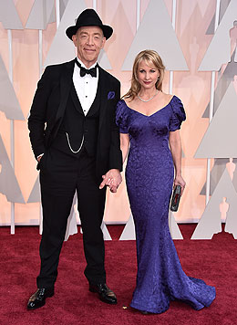 J. K. Simmons und Michelle Schumacher (Bild: AP)
