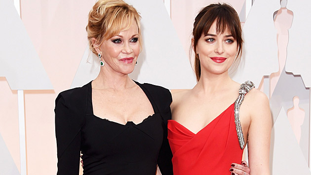 Melanie Griffith und Dakota Johnson (Bild: AFP)