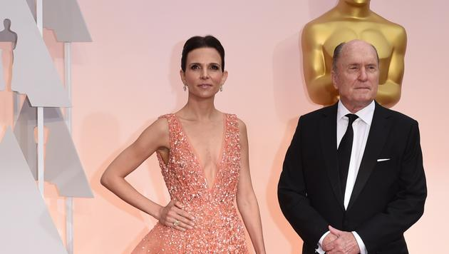 Robert Duvall mit Ehefrau Luciana Pedraza (Bild: AP)