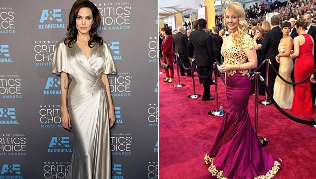 Iva Schell will sich mit Maximilans Patentochter Angelina Jolie treffen. (Bild: Matt Sayles/Invision/AP, Privat)